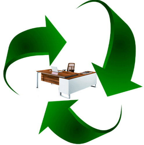 recykling mebli biurowych