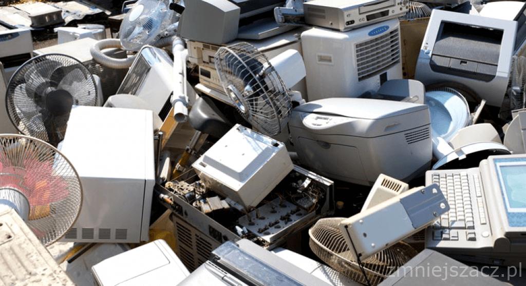 szkodliwe elektrośmieci odpady