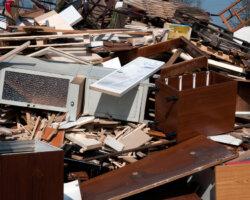odbiór wywóz płyt meblowych mebli utylizacja recykling poznań esbud